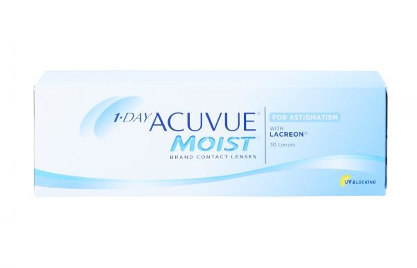 1-Day Acuvue Moist Astigmatismo 30 ud
