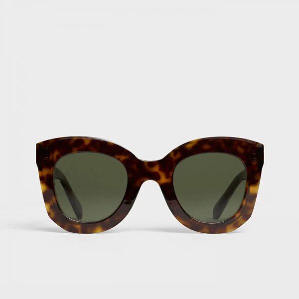 CELINE: Gafas de Sol Mariposa de acetato