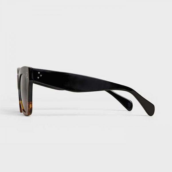 CELINE: Gafas de sol estilo Ojos de Gato de acetato