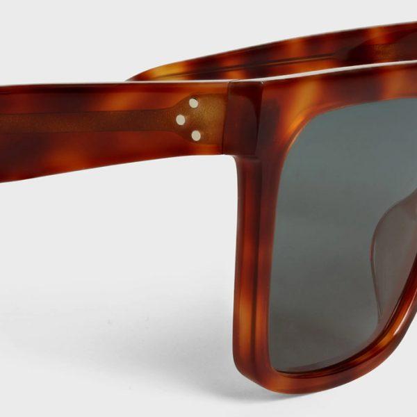 CELINE: Gafas de sol Oversize con montura de acetato