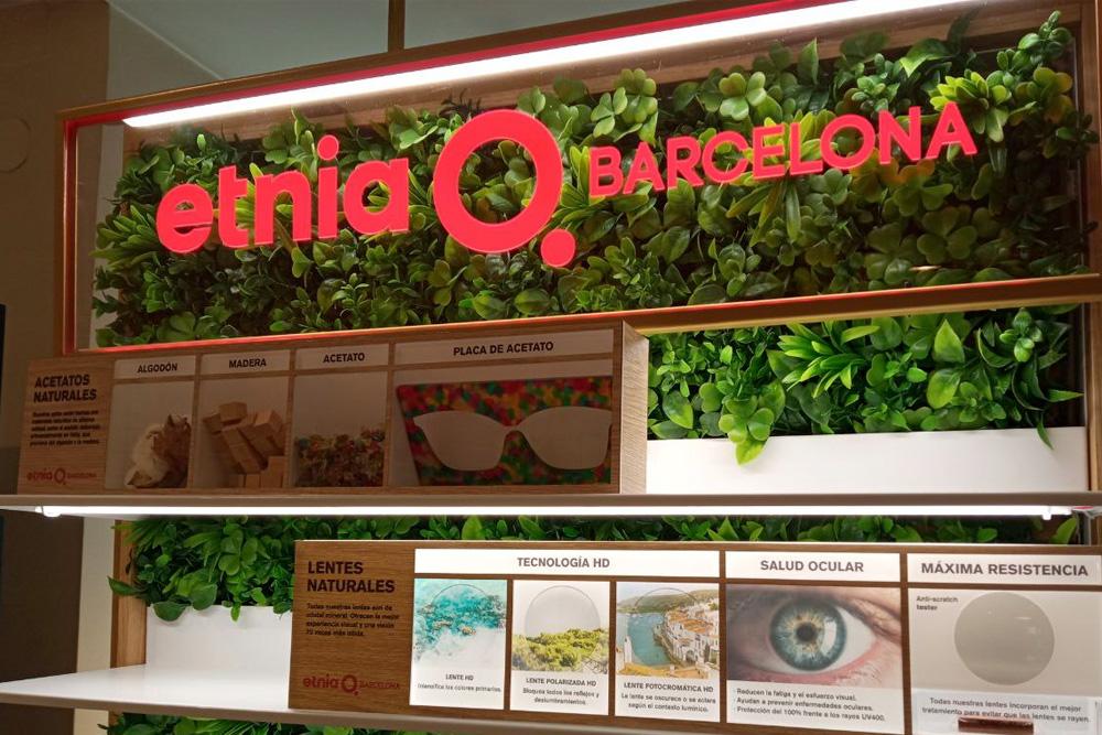 Etnia Barcelona en Óptica Europa